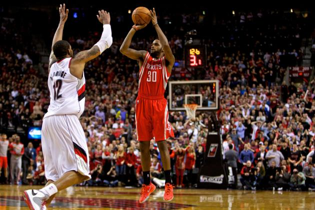 Rockets' Troy Daniels Earns 'Blazer Killer' Nickname After Game-Winning Shot