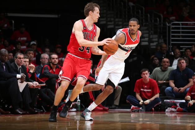Bulls' Mike Dunleavy Sets Single-Game Franchise Playoff 3-Point Record