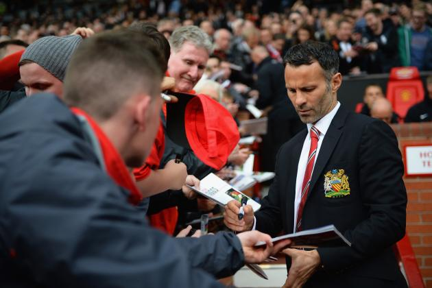 Twitter Reacts to Ryan Giggs' 1st Game as Manager of Manchester United