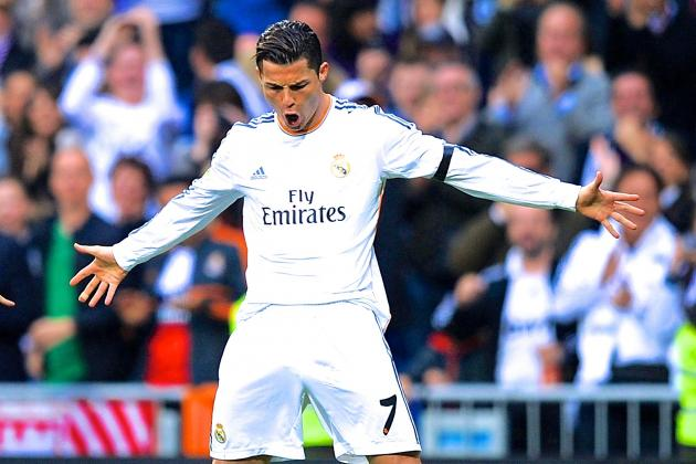 GIF: Cristiano Ronaldo Scores Two Golazos for Real Madrid vs. Osasuna