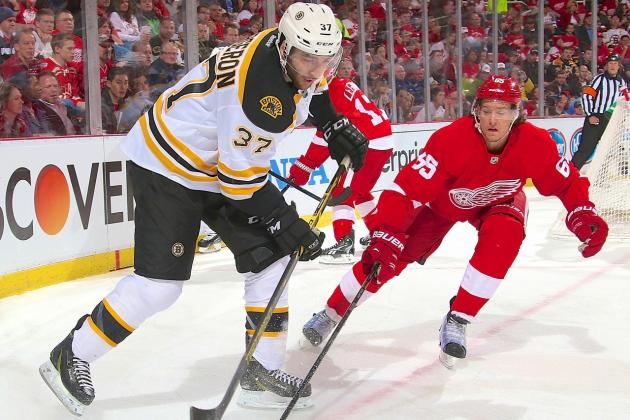 Detroit Red Wings vs. Boston Bruins Game 5: Live Score and Highlights