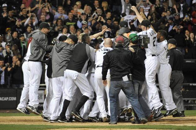 White Sox's Jose Abreu Sets Rookie Record for Most Home Runs Before May