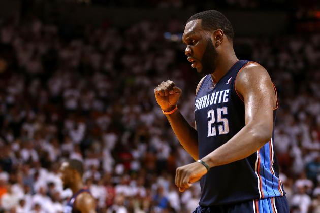 Charlotte Bobcats Don't Expect Al Jefferson to Recover from Injury During Series