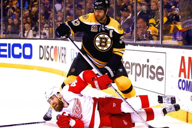 Championship Defense Driving Boston Bruins After Knocking out Red Wings