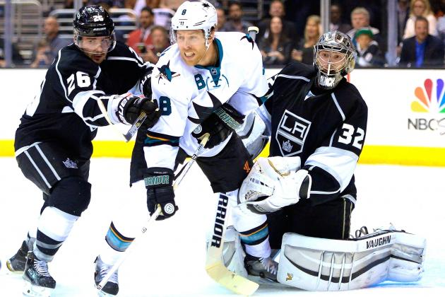 Los Angeles Kings vs. San Jose Sharks Game 5: Live Score and Highlights