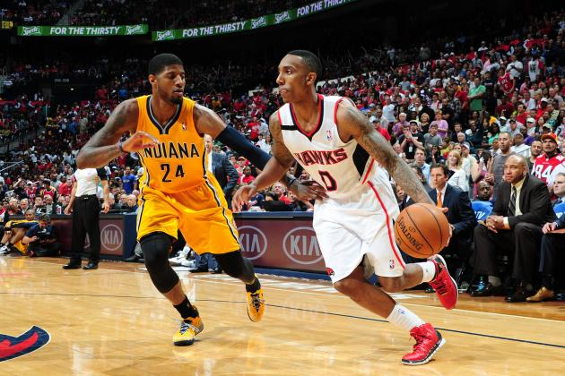 Short Takes on Hawks-Pacers Game