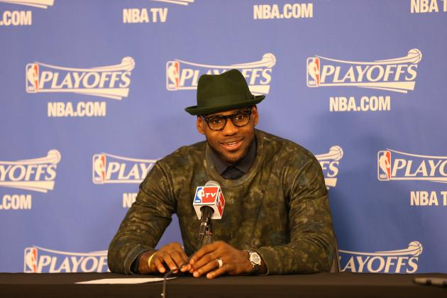 LeBron James Goes Green After Heat's Game 3 Win over Bobcats