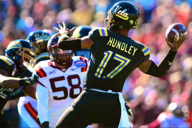 Spring Game Shows UCLA Will Need Heisman Season from Brett Hundley in 2014