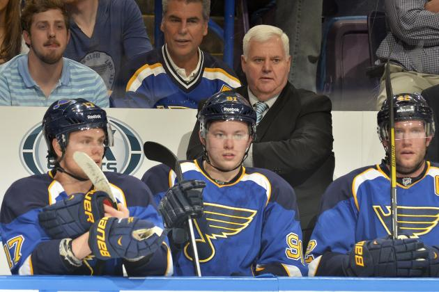 'Everybody Is a Little Discouraged,' Says Blues Coach Hitchcock