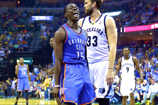 Thunder vs. Grizzlies: Game 4 Score and Twitter Reaction from 2014 NBA Playoffs