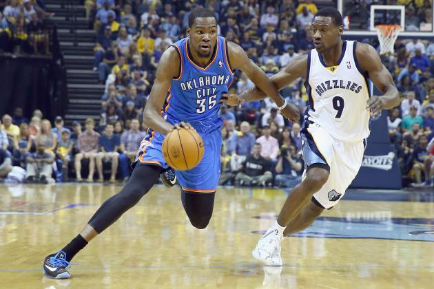 Oklahoma City Thunder vs. Memphis Grizzlies: Postgame Grades and Analysis