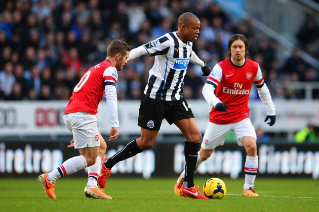 How Arsenal Will Line Up Against Newcastle United