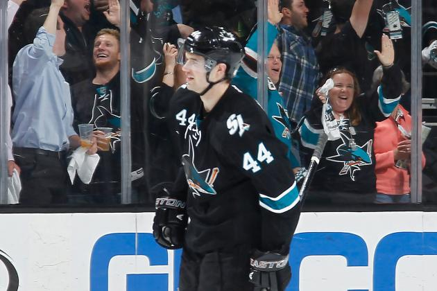 Sharks D-Man Vlasic's Status for Game 6 in Question