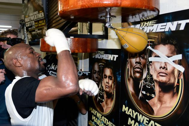 Mayweather vs. Maidana: What to Watch for in Money's Quest for 46-0