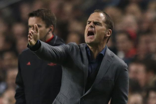Ajax Win Record 4th Dutch Title in a Row as Frank de Boer's Team March On