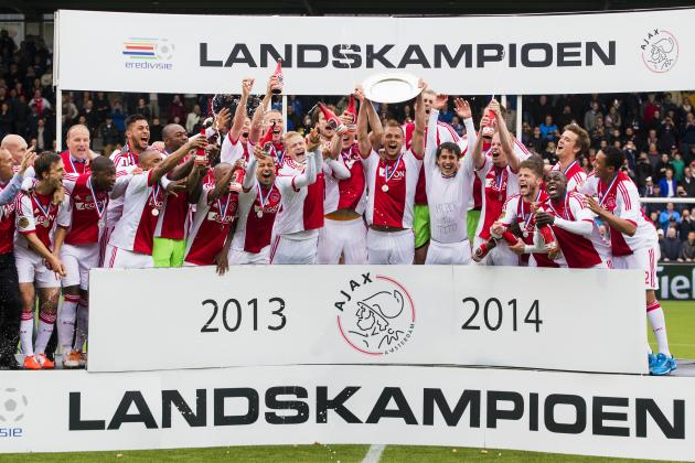Ajax Secure Eredivisie Crown for Fourth Straight Year
