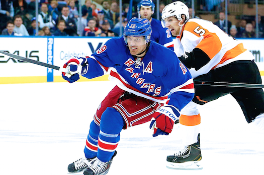 Philadelphia Flyers vs. New York Rangers Game 5: Live Score and Highlights
