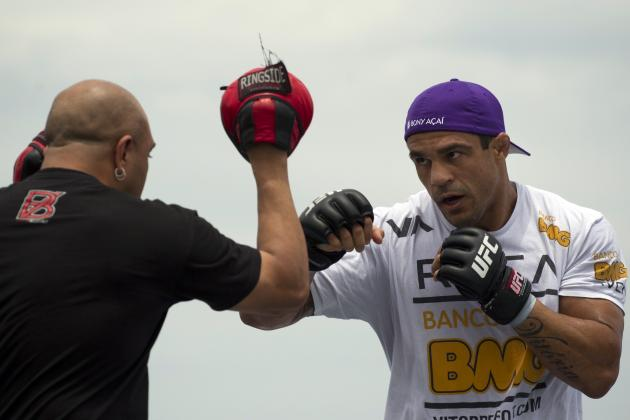 Dana White: 'Hilarious' Vitor Belfort Isn't Getting Licensed Anytime Soon