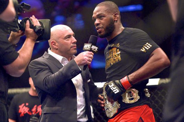 Jon Jones Clowns on Phil Davis at UFC 172 Post-Fight Presser