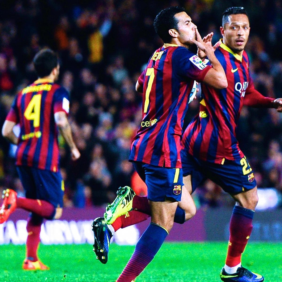 Arsenal Vs Barcelona Live Score Highlights From: Villarreal Vs. Barcelona: La Liga Live Score, Highlights