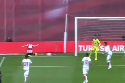 GIF: Iker Muniain Scores Excellent Goal with Outside of Foot