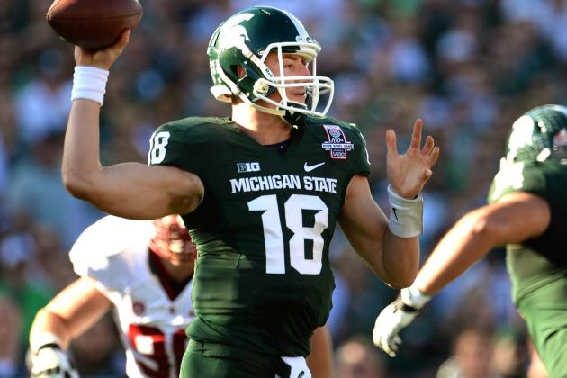 Michigan State Looks Like College Football Playoff Contender as Offense Explodes