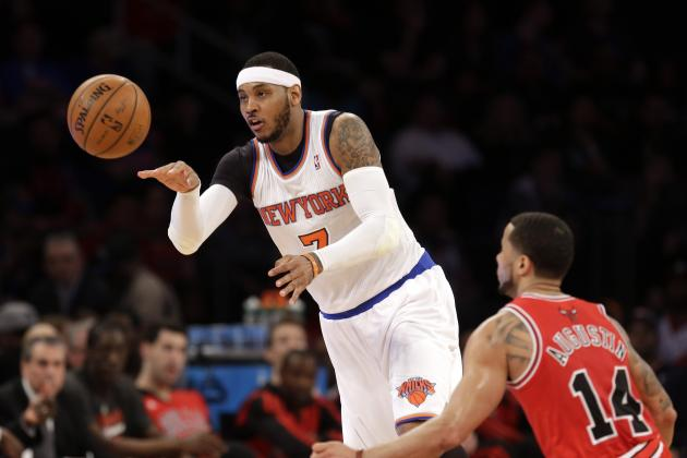 Would First-Round Exit Push Chicago Bulls All in on Carmelo Anthony?