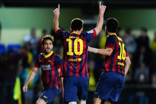 GIF: Lionel Messi's Winner Caps Wild Barcelona Comeback vs. Villarreal
