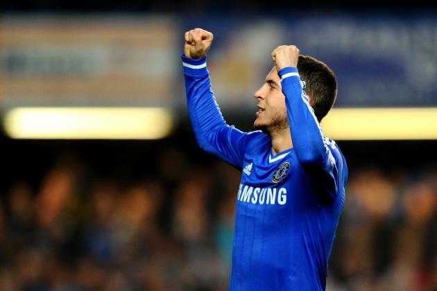 Eden Hazard Wins PFA Young Player of the Year 2014 Award