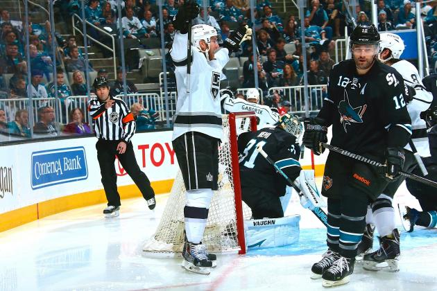 San Jose Sharks' Playoff Demons Surfacing Again with LA Kings on the Comeback