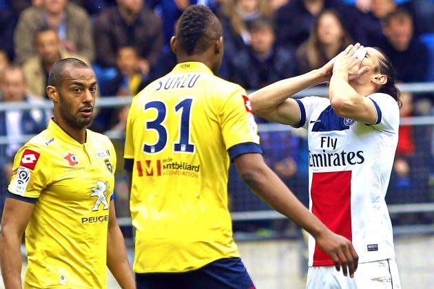 Paris Saint-Germain Held by Sochaux as Laurent Blanc Shows Tactical Weakness