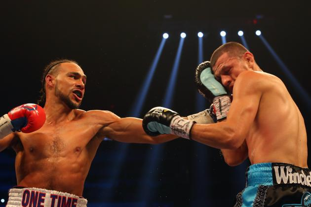 Keith Thurman vs. Julio Diaz: Live Round-by-Round Results and Highlights