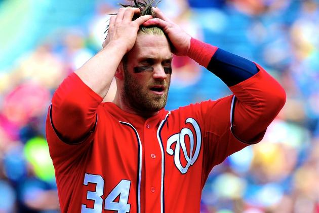 Bryce Harper Thumb Injury Could Be Serious, Nationals Wait on Specialist