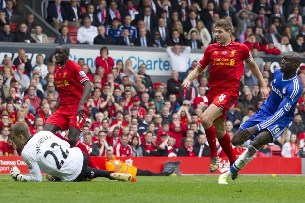 Demba Ba Wasn't Surprised by Steven Gerrard's Slip During Liverpool vs. Chelsea