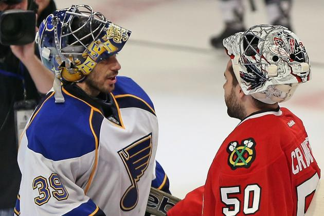 Ryan Miller Struggles in First-Round Series Loss to Chicago Blackhawks