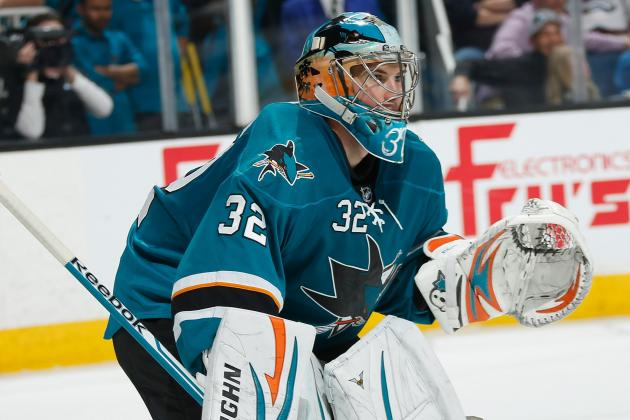 Sharks' Stalock Could Get First Career Playoff Start in Game 6