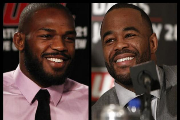 Jon Jones and Rashad Evans Finally Reconcile, Squash Three-Year Beef