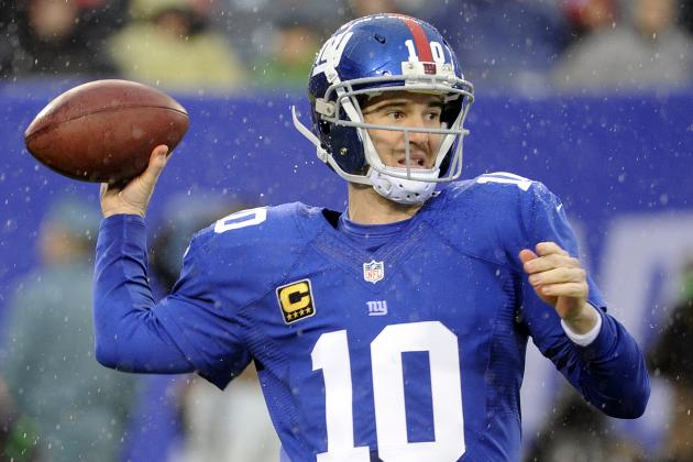 Eli Manning Says NY Giants Have 'A Lot of Work to Do'