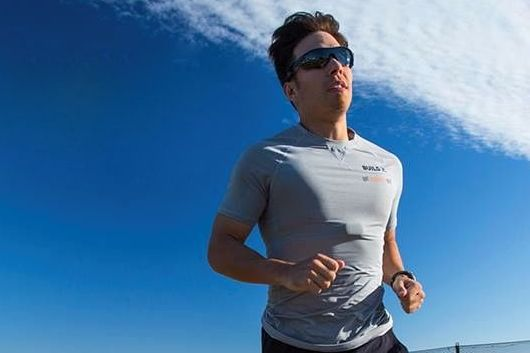 Apolo Ohno Trainng for the Ironman