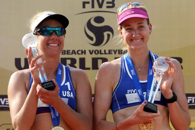 Kerri Walsh Jennings Wins Record Beach Volleyball Title