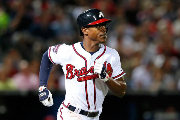 Braves' B.J. Upton Records His 1,000th Career MLB Hit