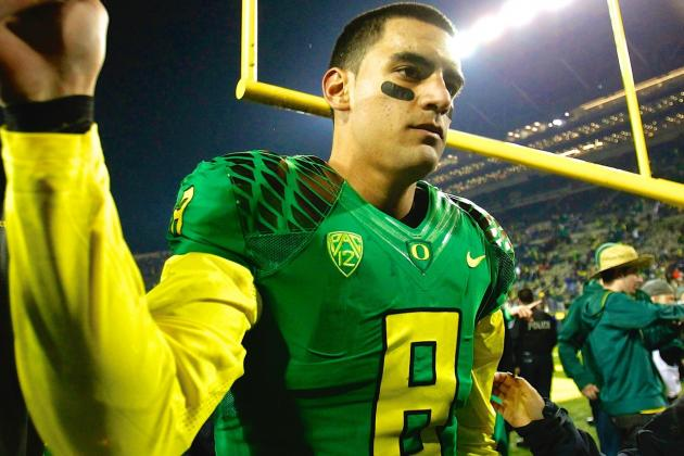 Marcus Mariota Needs to Find Reliable Deep Threat for Oregon to Thrive in 2014