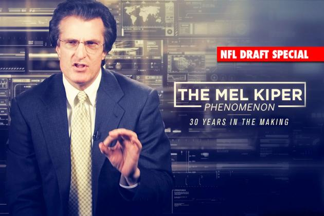 Meet Mel Kiper: Fallible, Parodied, Relentless, Rich, Famous, Successful