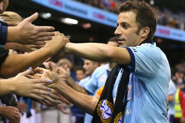 Alessandro Del Piero Announces He Will Leave Sydney FC