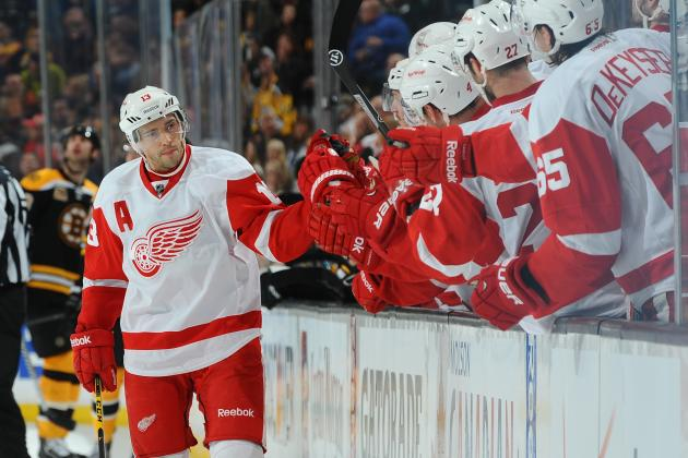 Red Wings Determining Whether Datsyuk Needs Knee Surgery