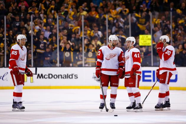 Future Is Promising, but Red Wings Need Aggressive Moves