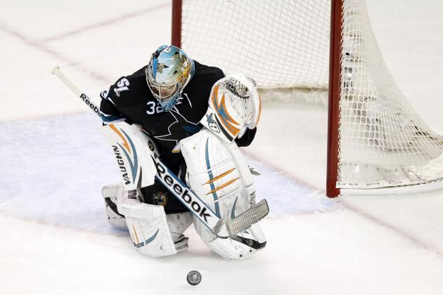 Sharks Switch to Stalock, Lose Top D-Man Vlasic