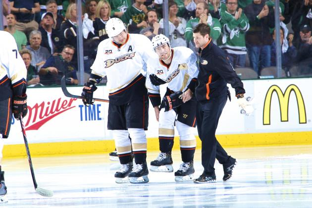 What Losing Stephane Robidas to Injury Means to the Anaheim Ducks