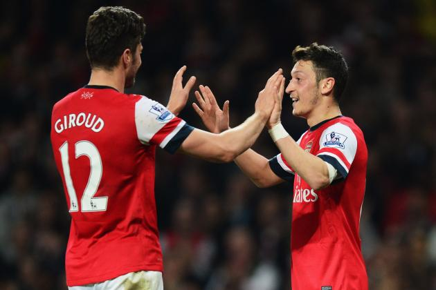 Arsenal vs. Newcastle: Highlighting Top Performers in Gunners' Rout