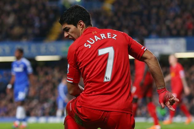 Chelsea Show England Boss Roy Hodgson Exactly How to Stop Luis Suarez